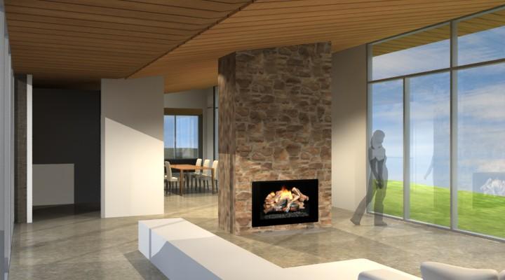 Fish Creek House design interior