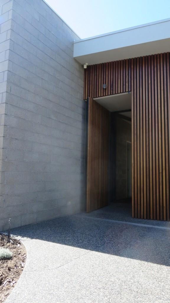 Blairgowrie House entrance detail
