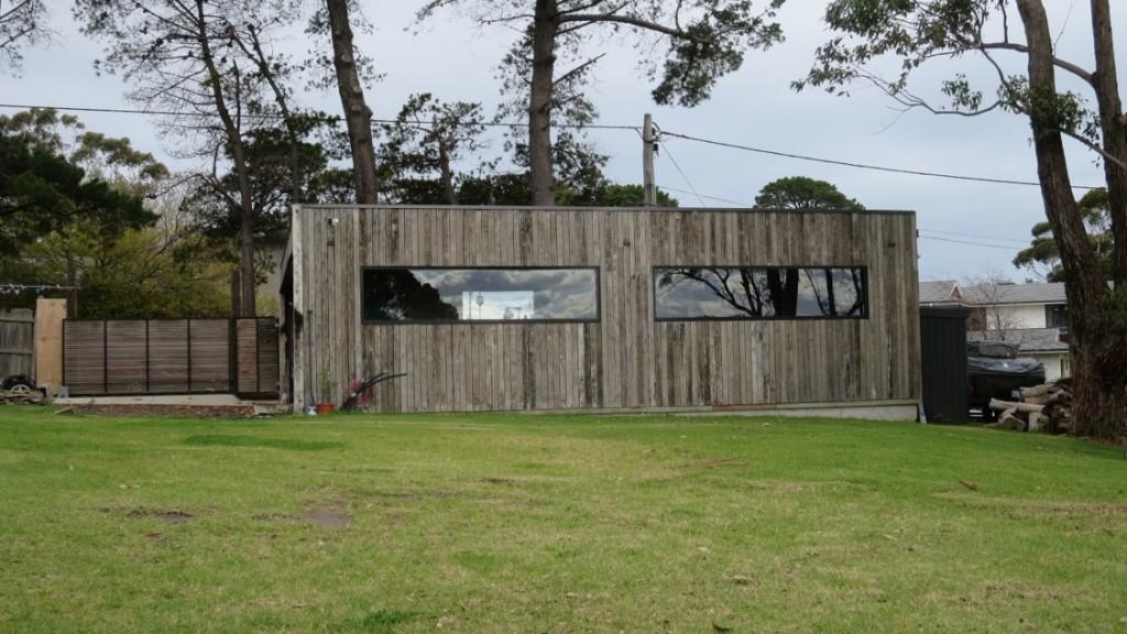 Mount Eliza House garage
