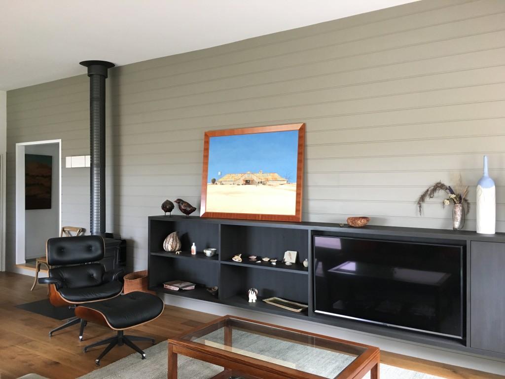 South Gippsland Renovation living room