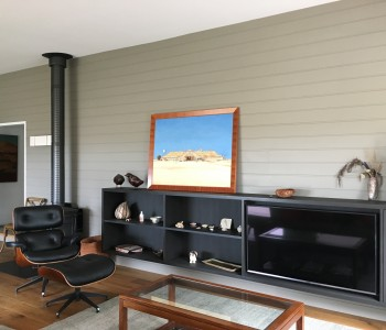 South Gippsland Renovation living room