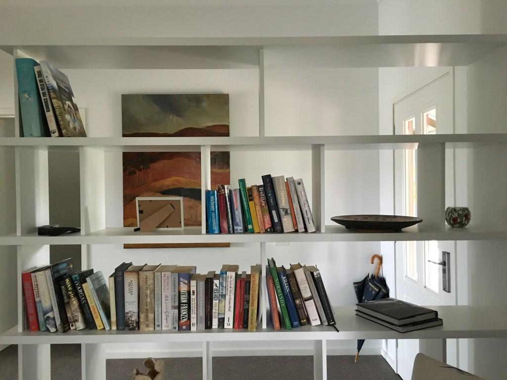 South Gippsland Renovation study shelves