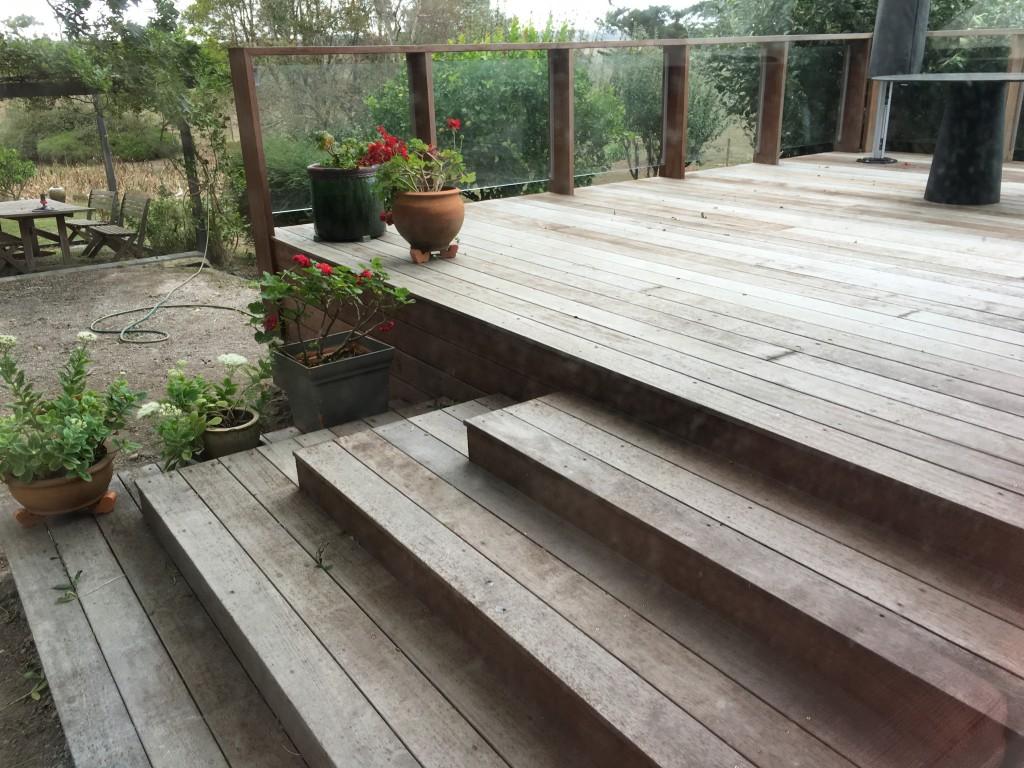 South Gippsland Renovation decking steps
