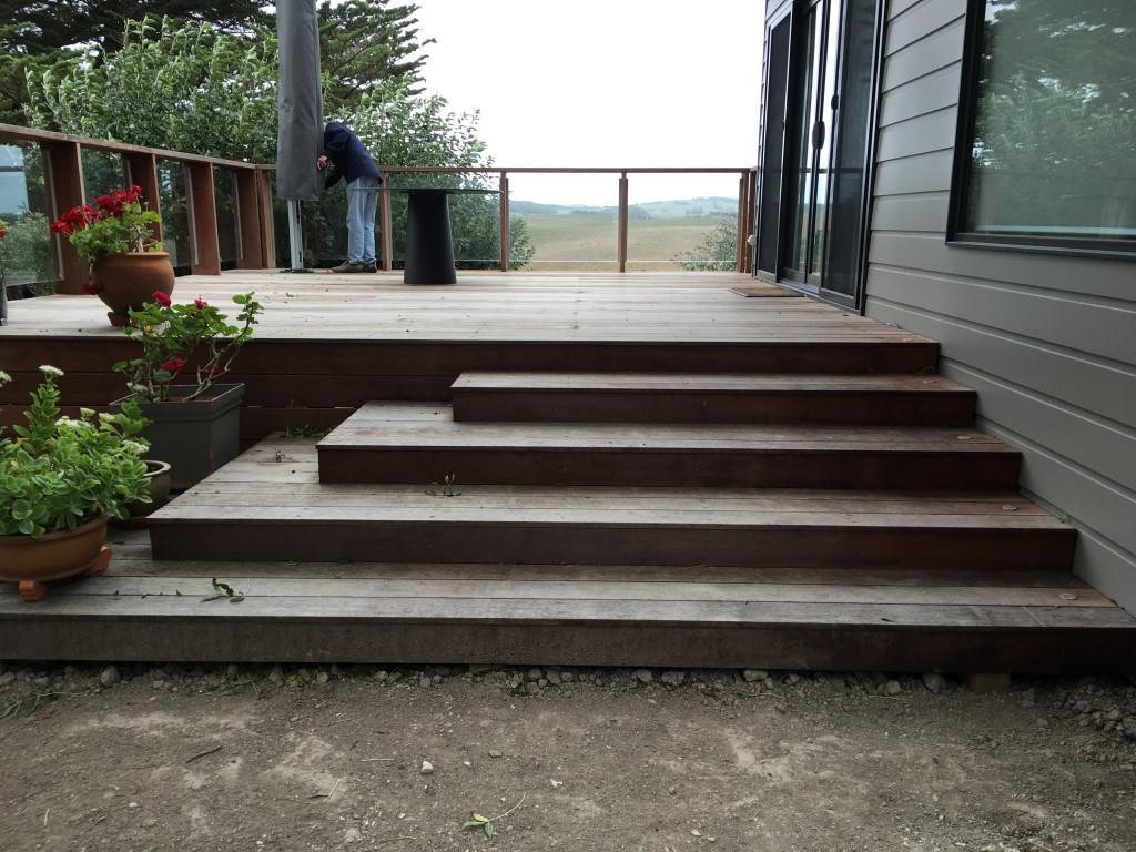 South Gippsland Renovation deck